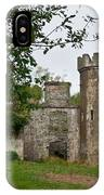 Castle Near Upper Lake Kilarney Irelnad IPhone Case