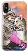 Cat And Mouse Reunited IPhone Case