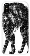 Cat-artwork-prints-2 IPhone Case