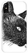Cat Drawings 5 IPhone Case