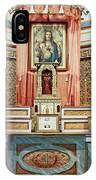 Cataldo Mission Altar - Idaho State IPhone Case