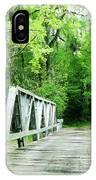 Catalpa Plantation Bridge IPhone Case