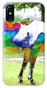 Catch A Painted Pony IPhone Case
