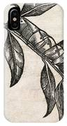 Caterpillars, 17th Century Artwork IPhone Case