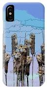Cattail Blues IPhone Case