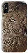 Cave Art: Incised Rock IPhone Case