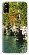 Cave Point Cove IPhone Case
