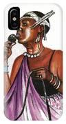 Cecile Kayirebwa IPhone Case
