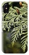 Cedar Due Droplets IPhone Case
