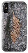 Cedar On Granite IPhone X Case