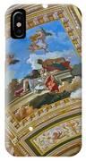 Ceiling Inside Venetian Hotel IPhone Case
