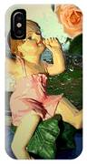 Celebrate The Rain With Roses 2 IPhone Case