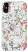 Celestial Planisphere Showing The Signs Of The Zodiac IPhone Case
