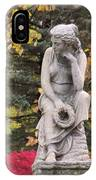 Cemetery Statue 1 IPhone Case