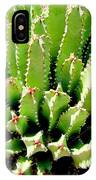 Cereus Peruvianis Cactus IPhone Case