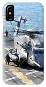 Ch-53e Super Stallion Helicopters IPhone Case