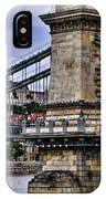 Chain Bridge  Budapest IPhone Case