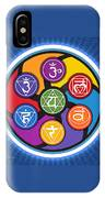 Chakra Circle IPhone Case
