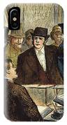 Challenging A Voter, 1872 IPhone Case