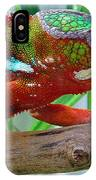 Chameleon Close Up IPhone Case