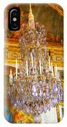Chandelier At Versailles IPhone Case