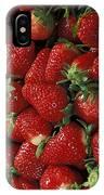 Chandler Strawberries IPhone Case