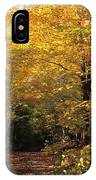 Changing Trees IPhone Case