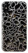 Chaos Of Stacked Metal Fencing IPhone Case