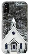 Chapel In The Snow - D007592 IPhone Case