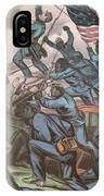 Charge Of The 54th Massachusetts IPhone Case