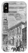 Charleston, 1857 IPhone Case