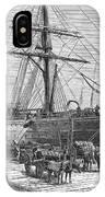 Charleston: Cotton Ship IPhone Case