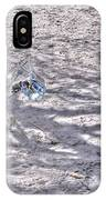 Chasing Snowflakes IPhone Case
