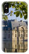 Chateau De Chantilly IPhone Case
