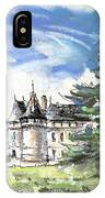 Chateau De Chaumont In France IPhone Case