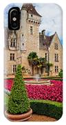Chateau Des Milandes IPhone Case
