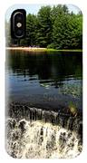 Chatfield Hollow Pond IPhone Case