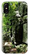 Chatfield Rock Face IPhone Case