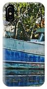 Chauvin La Blue Bayou Boat IPhone Case