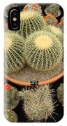 Chelsea Flower Show Cacti Display IPhone Case