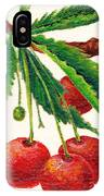 Cherries On A Branch IPhone Case