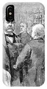 Chester Alan Arthur IPhone Case