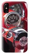Chevrolet Corvette Steering Wheel IPhone Case