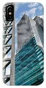 Chicago - A Sophisticated Finance Hub IPhone Case