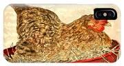 Chicken Hen Painting Art Print IPhone Case
