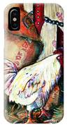 Chicken In The Barn IPhone Case