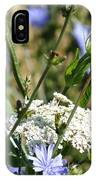 Chicory And Lace IPhone Case