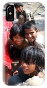 Children Of Labor In India IPhone Case
