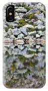 Chimney Pond Reflections IPhone Case