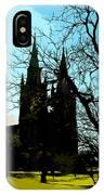 Christian Church Silhouette IPhone Case